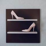 Ботинки свадьбы; творческий; Стоковые Фото