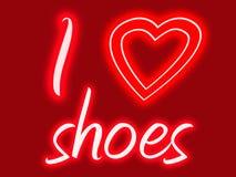 ботинки сердца i Стоковая Фотография RF