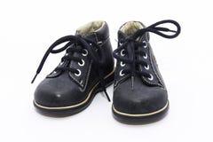 ботинки сини младенца Стоковое Изображение