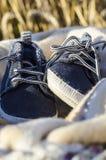 Ботинки спорта голубого младенца Стоковые Изображения