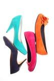 ботинки способа стоковое изображение rf