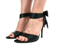 ботинки фетиша сексуальные Стоковые Фото