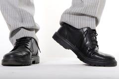 ботинки человека s Стоковое Фото