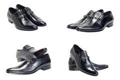 ботинки чернокожего человек s стоковая фотография rf