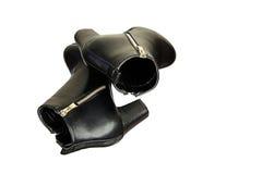 Ботинки чернокожей женщины Стоковое Фото