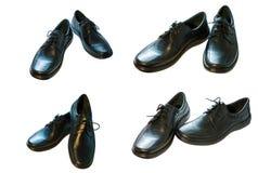 ботинки чернокожих человек s Стоковая Фотография RF