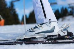 Ботинки лыжи Стоковые Изображения