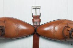Ботинки людей Стоковое фото RF