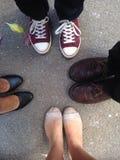 Ботинки для взрослых Стоковые Изображения