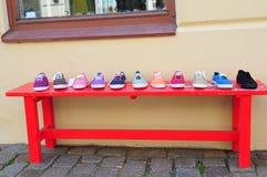 Ботинки для продажи Стоковые Фото