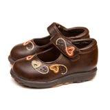 ботинки девушок Стоковая Фотография