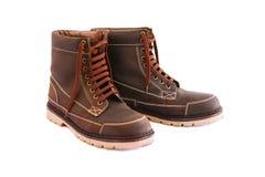 Ботинки Brown Стоковые Фотографии RF