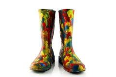 ботинки gum пестротканое Стоковое Изображение RF