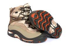 ботинки hiking зима стоковые изображения