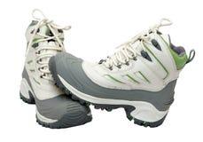 ботинки hiking новая зима Стоковая Фотография