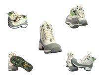 ботинки hiking новая зима Стоковое Изображение RF