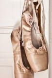 ботинки pointe балета Стоковая Фотография