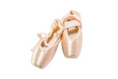 ботинки pointe балета стоковые фотографии rf