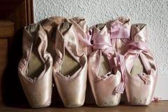 Ботинки Pointe Стоковые Фото