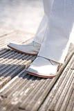 ботинки wedding белизна стоковые фотографии rf