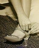ботинки wedding Стоковое Изображение