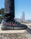 Ботинки Yezzy стоковое изображение