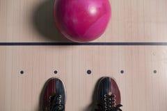 Ботинок боулинга. Стоковое фото RF