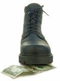 ботинок грубый Стоковая Фотография