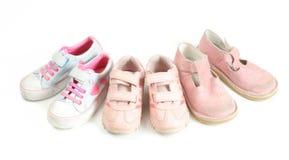 ботинок девушок стоковое изображение rf