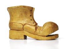 ботинок деревянный Стоковое Изображение RF