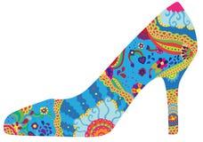 Ботинок женщин иллюстрация штока