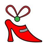Ботинок значка подарка на цыпочках бесплатная иллюстрация