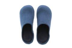Ботинок или тапочки для пользы в доме стоковое фото