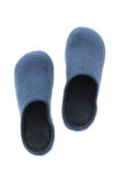 Ботинок или тапочки для пользы в доме стоковое изображение