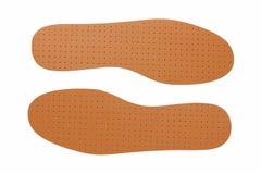 ботинок коричневых insoles кожаный Стоковые Изображения RF