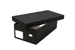 ботинок коробки открытый Стоковое фото RF