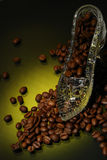 ботинок кристалла кофе Стоковое Изображение RF