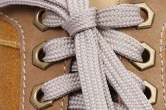ботинок макроса Стоковые Фото