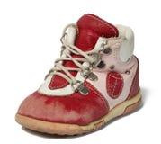 ботинок младенца использовал Стоковое Фото