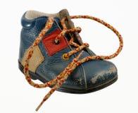 Ботинок младенца старого типа Стоковая Фотография RF
