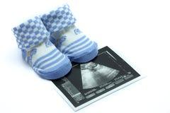 ботинок младенца Стоковые Фото