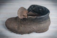ботинок пакостный Стоковое Фото