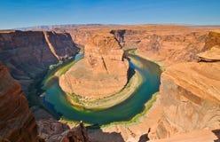 ботинок реки лошади colorado загиба Стоковые Фото