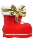 Ботинок Санта Клауса Стоковое Фото