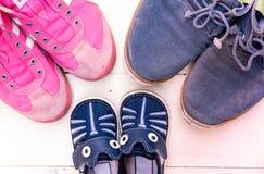 ботинок семьи Стоковая Фотография RF