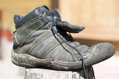 ботинок старый Стоковые Фотографии RF