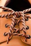 ботинок шнурка Стоковые Изображения RF