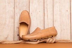 Ботинок Loafer людей Стоковые Изображения RF