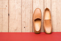 Ботинок Loafer людей Стоковое фото RF