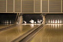 боулинг переулка Стоковое фото RF